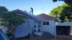 Roof Restoration Sydney painting cleaning North Shore